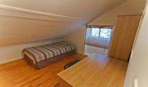 Dit is ook een kleine single kamer in dit studentenhuis in Gardens, Kaapstad