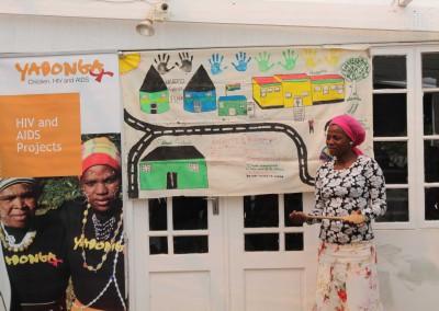 Projecten met kinderen en jongeren in townships