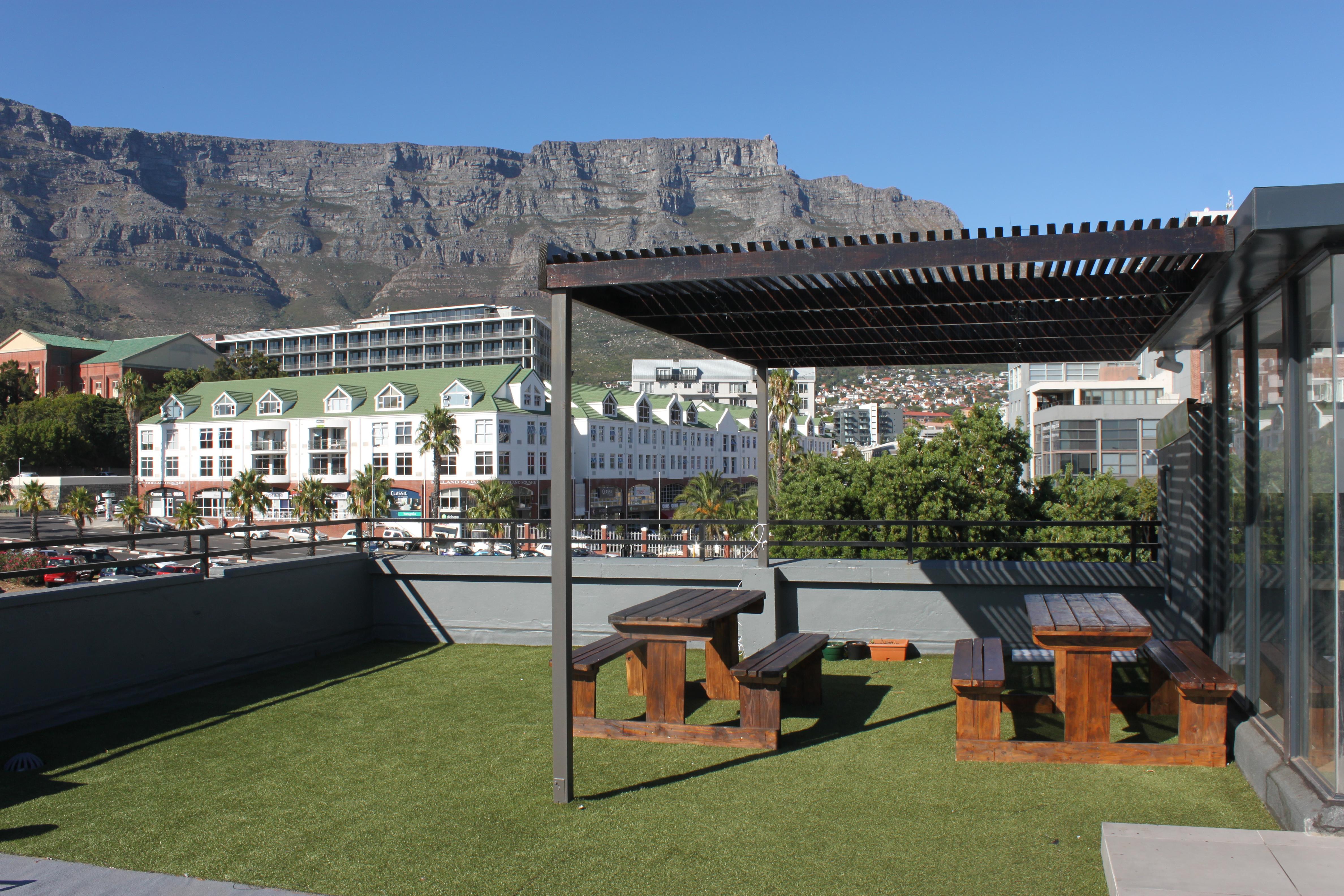 Studentenhuis in Zonnebloem, Kaapstad