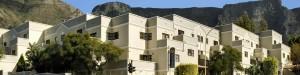 De appartementen zijn gelegen aan de voet van de Tafelberg in het centrum van Kaapstad